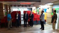 BALCı - Başkan Balcı, Tamamlanan Konferans Salonunun İnceledi
