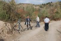 Demir Kapı İle Kapatılarak Kilit Vurulan Köy Yolu Ulaşıma Açıldı