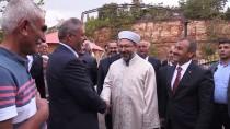 TUNCELİ VALİSİ - Diyanet İşleri Başkanı Erbaş'tan Cemevine Ziyaret