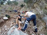 KELEBEKLER VADİSİ - Düştüğü Yerden 12 Saate Kurtarıldı