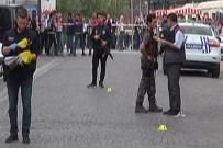 Eminönü'nde bir kişi çevreye ateş açtı: 1 polis yaralandı