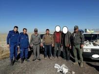 YIRTICI KUŞ - Kaçak Uludoğan Avlayan 2 Kişi Suç Üstü Yakalandı