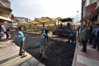 SEMT PAZARI - Karaköy Pazar Yerinde Çalışmalar Tamamlanıyor