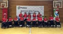 TÜRK MİLLİ TAKIMI - Kendi Gibi Engelli Eşini Avrupa Şampiyonası'na Hazırladı