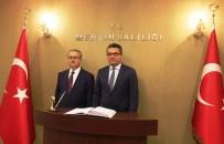 STRATEJI - KKTC Başbakanı Erhürman Mersin'de