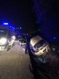 Kontrolden Çıkan Otomobil Şarampole Uçtu Açıklaması 4 Yaralı