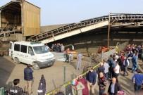 Maden Taşıma Bandına Sıkışan İşçi Öldü