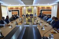 RAMAZAN ÖZCAN - Milletvekili Kahtalı'dan Ticaret Borsasına Ziyaret