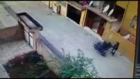 KAPKAÇ - Motosikletli Kapkaççı Önce Kameraya, Sonra Polise Yakalandı