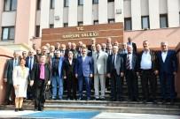 MUSTAFA ÖZTÜRK - Muhtarlar Vali Kaymak'tan 'Muhtarlık Büroları' Konusunda Destek İstedi