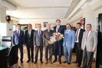 Muhtarlardan Başkan Başsoy'a Ziyaret
