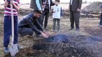 Muş'ta Toprak Yanması Köylüleri Şaşırttı