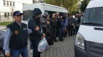 HARP OKULU - Samsun'da FETÖ'den 9 Rütbeli Asker Adliyeye Sevk Edildi