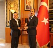 TıP FAKÜLTESI - Sayıştay Başkanı Baş'tan Başkan Altay'a Ziyaret