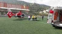 İSMAIL KARAKUYU - Simav'da Ev Yangını Açıklaması 2 Yaralı