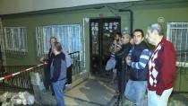 ÇÖKME TEHLİKESİ - Şişli'de Çökme Tehlikesi Bulunan Bina Tahliye Edildi