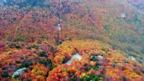 TELEFERIK - Uludağ'a Teleferikle Rengarenk Sonbahar Yolculuğu