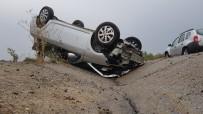 GÜZERGAH - Yağmur Kazaları Beraberinde Getirdi
