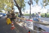 YAYALAŞTIRMA - Yeni Ulus Meydanı İçin İlk Sondaj Vuruldu