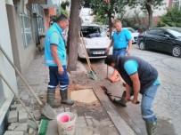 BASKİ, Erdek'te Patlayan Su Hattını Onardı