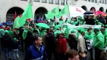 HÜKÜMET KARŞITI - Belçika'da Emeklilik Hakları Protestosu
