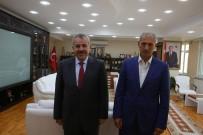 ŞABAN DİŞLİ - Lahey Büyükelçisi Şaban Dişli'den Başkan Dişli'ye Ziyaret