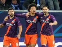 DAVID SILVA - Manchester City, Devler Ligi'nde ilk galibiyetini aldı!