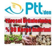 PTT'den Yöresel Ürünlere Kargo İndirimi