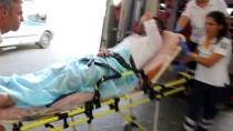 POLİS MERKEZİ - Adana'da Silahlı Saldırı Açıklaması 1 Yaralı