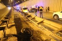 SAKIP SABANCI - Antalya'da Hurdaya Dönen Araçtan Sağ Çıktılar