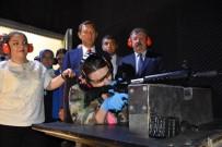 Azeri Kadın Vekil, MPT-76 İle Atış Yaptı