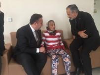 NİLÜFER - Başkan Cömez'den Türkiye'yi Ağlatan Yaşlı Kadına Ziyaret