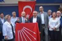 MESUT ÖZAKCAN - Başkan Özakcan'dan Miting Gibi Adaylık Açıklaması