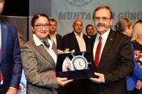 MUHTARLAR KONFEDERASYONU - Başkan Şahin'den Muhtarlara Müjde