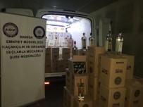 VOTKA - Binlerce Kaçak İçki Ele Geçirildi
