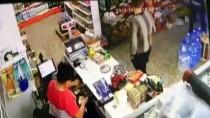 MARKET - Bursa'da Marketten Yankesicilik Güvenlik Kamerasında