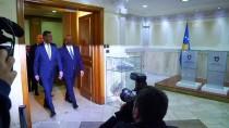 KOSOVA MECLİS BAŞKANI - Çavuşoğlu Kosova Meclis Başkanı İle Bir Araya Geldi