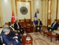 KOSOVA MECLİS BAŞKANI - Çavuşoğlu, Kosova Meclis Başkanı Veseli İle Görüştü