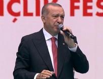 RECEP TAYYİP ERDOĞAN - Cumhurbaşkanı Erdoğan'dan Diyarbakır'da önemli mesajlar