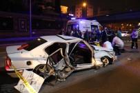 GÜZELYALı - E-5'Te Feci Kaza Açıklaması 1 Ölü, 1 Yaralı