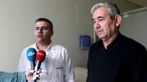 BAŞ DÖNMESİ - Fransa'da Yaşayan Gurbetçi Sivas'ta Sağlığına Kavuştu