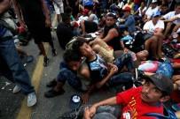 KERVAN - Göç Kervanı, Meksika Sınırını Geçmeyi Başardı