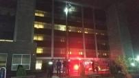 KADIN HASTA - Hastanede Yangın Çıktı Açıklaması 7 Kişi Dumandan Etkilendi