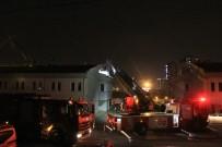 SEFAKÖY - İETT'de Garajında Korkutan Yangın