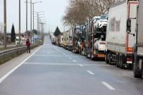HAMZABEYLI - Kapıkule'de 'Çile' Kuyruğu 13 Kilometre