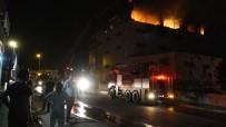 AKBELEN - Mersin'de Tekstil Atölyesinde Yangın Korku Dolu Anlar Yaşattı