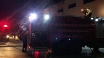 AKBELEN - Mersin'de Tekstil Fabrikasında Yangın