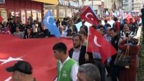 RECEP TAYYİP ERDOĞAN - Nevşehir'de Doğu Türkistan'a Destek Yürüyüşü