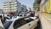 Otomobiller Kafa Kafaya Çarpıştı Açıklaması 4 Yaraladı