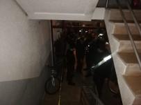 DAMACANA - Su Dağıtan Genç Asansör Boşluğunda Ölü Bulundu